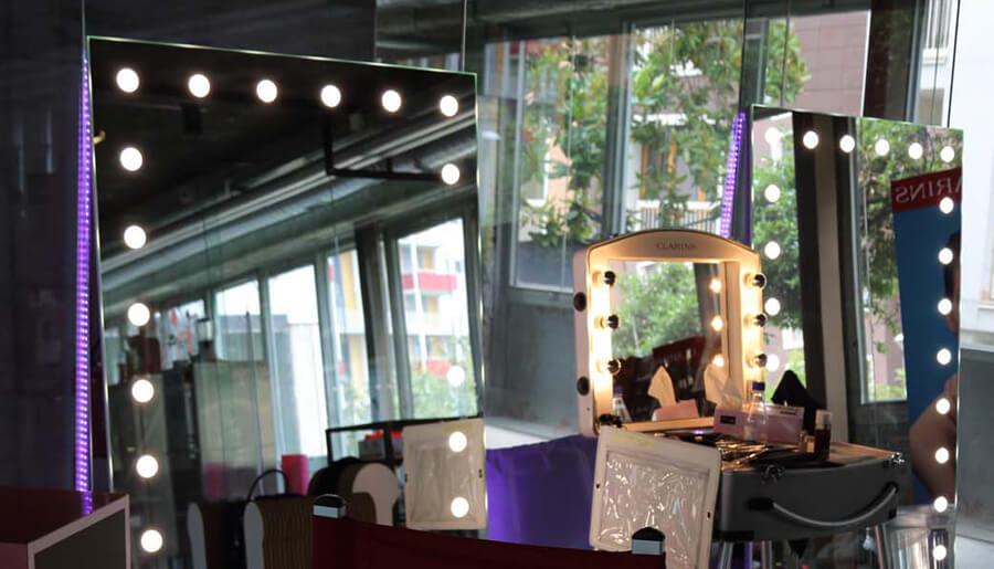 Specchi Cantoni durante Fashioncamp 2015