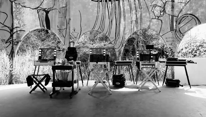 Backstage della linea Unica