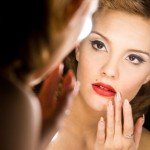 Sessione di truccon luce per make up professionale