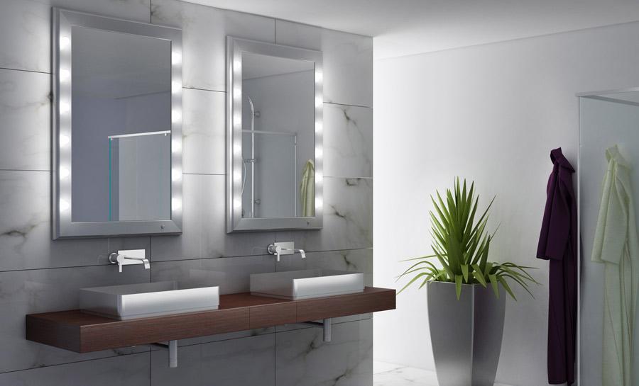 Specchi Artistici Da Bagno.La Luce Migliore Per Lo Specchio Da Bagno