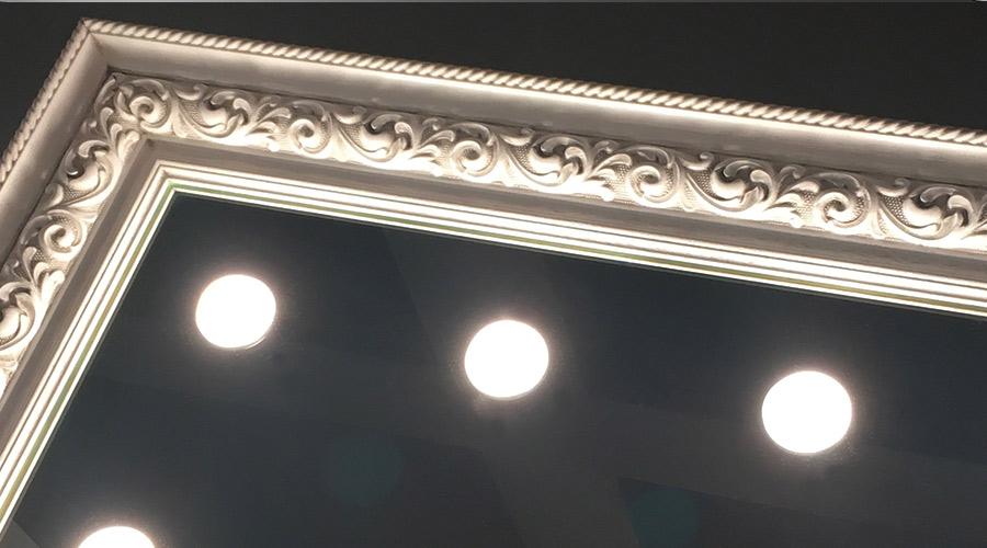 La luce migliore per lo specchio da bagno