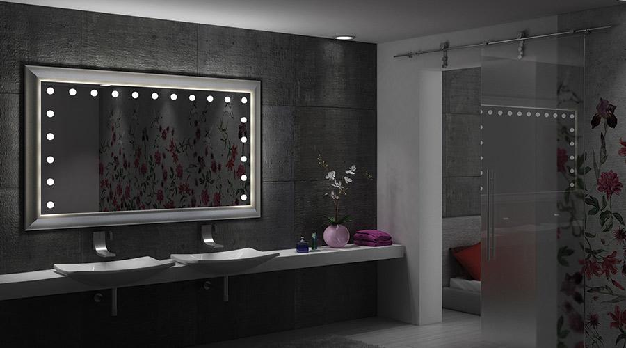 La luce migliore per lo specchio da bagno - Specchio retroilluminato bagno ...
