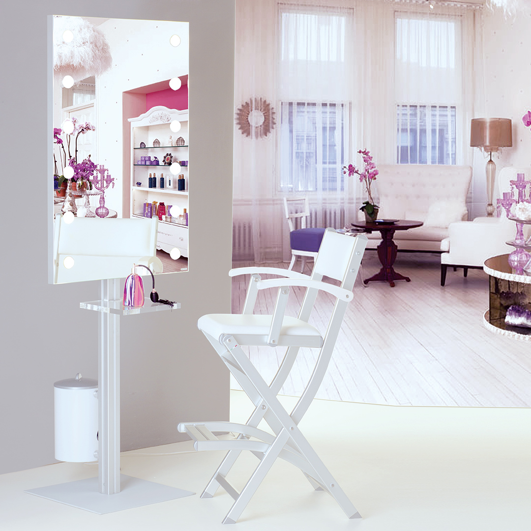 Professional Make-Up station tailor made for beauty salon, make up studios and academies
